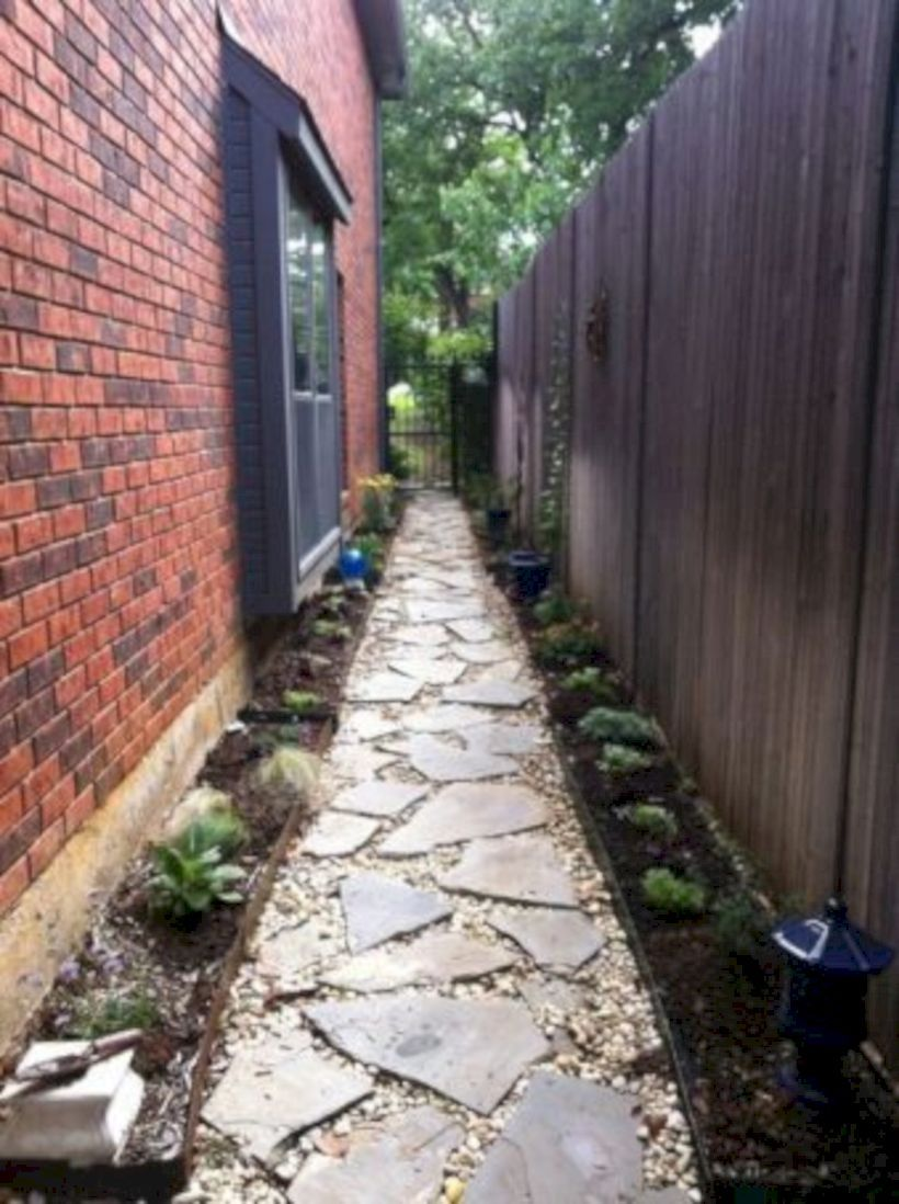 30 Make To Most Of Beauty Your Side Yard #sideyards