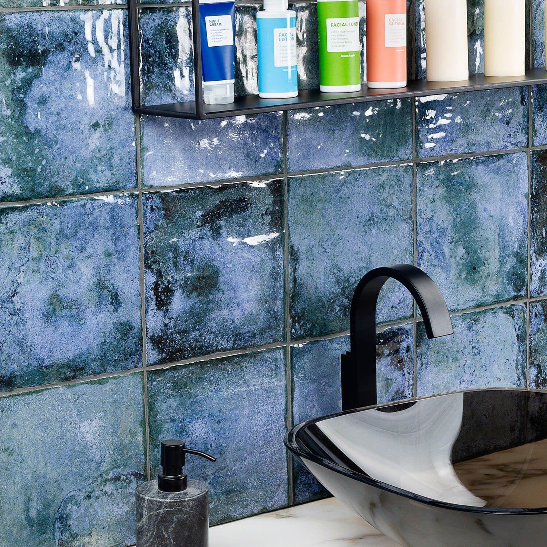 angela harris dunmore blu 8x8 ceramic