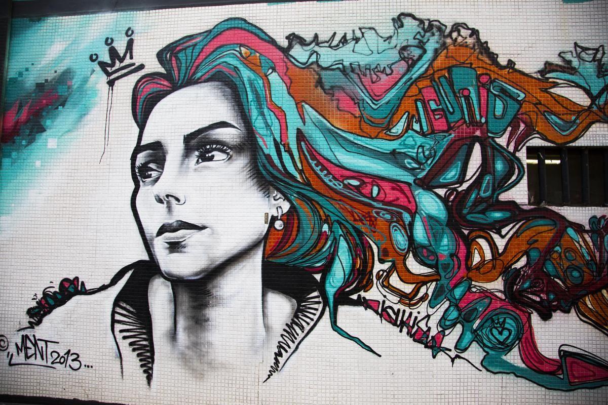 Rio street art Rio street art displays a people's struggle in stunning style