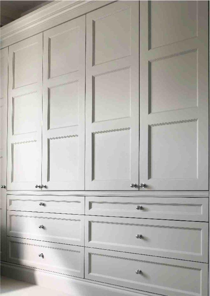 Edwardian wardrobe doors for built in wardrobe/dressing room. | For ...