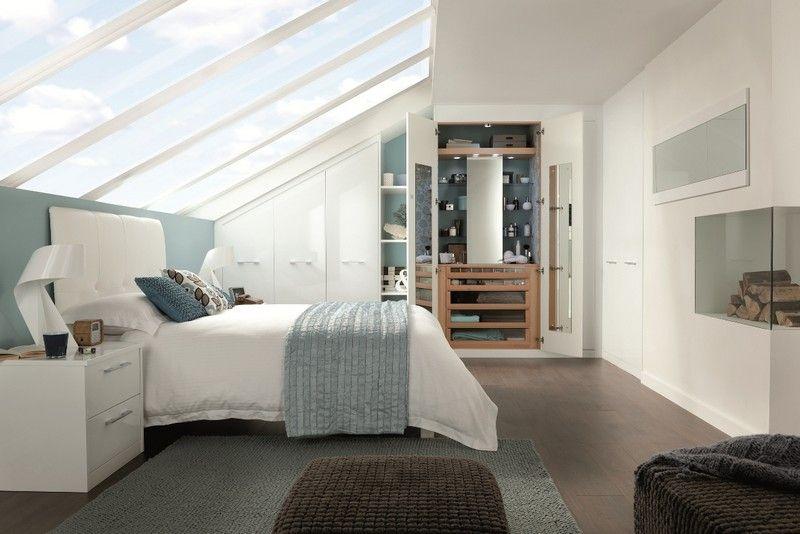 Dressing pour petite chambre id es fonctionnelles modernes combles am nag s chambre - Dressing pour petite chambre ...