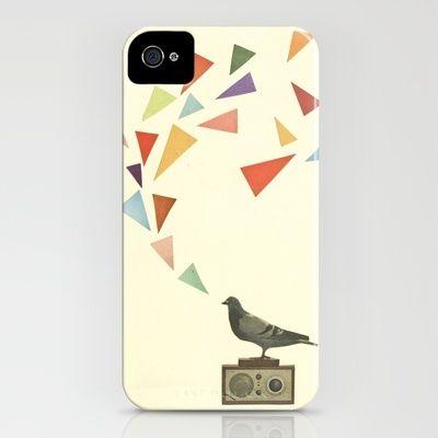 Pigeon Radio iPhone Case