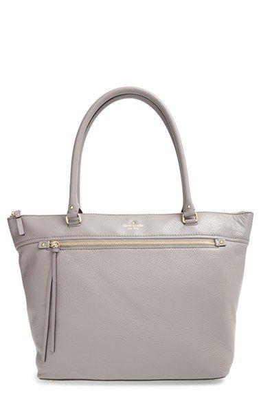 Light grey Kate Spade purse