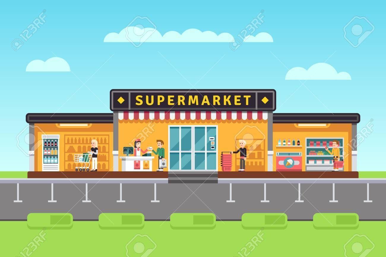 Supermarket Clipart Images Supermarket Clip Art Grocery Supermarket