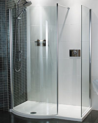 Charming Roman Colossus Walk In Shower Enclosure 1450 X Including Shower Tray