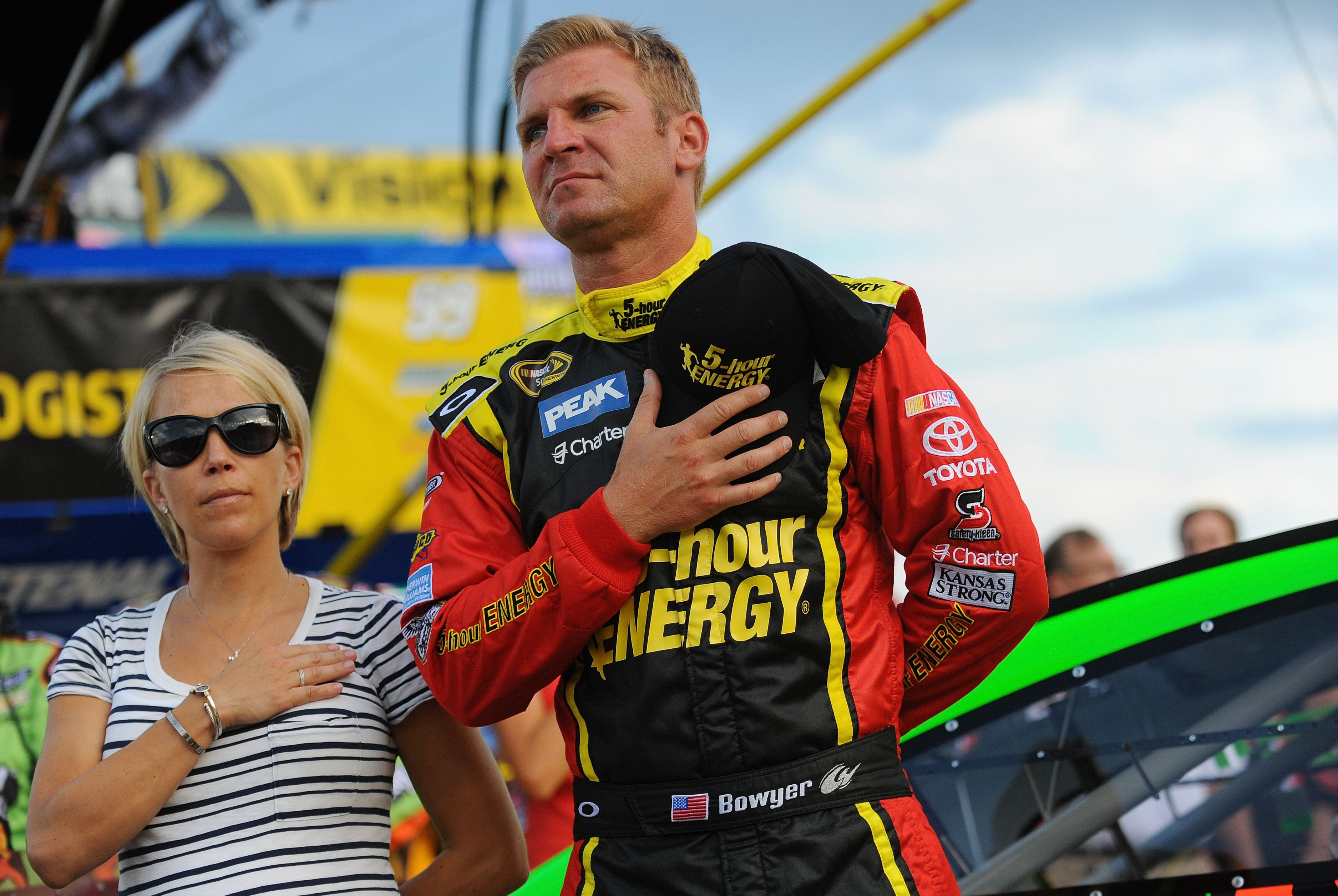 Nascar Wives & friends - NASCAR driver Clint Bowyer & his wife ...