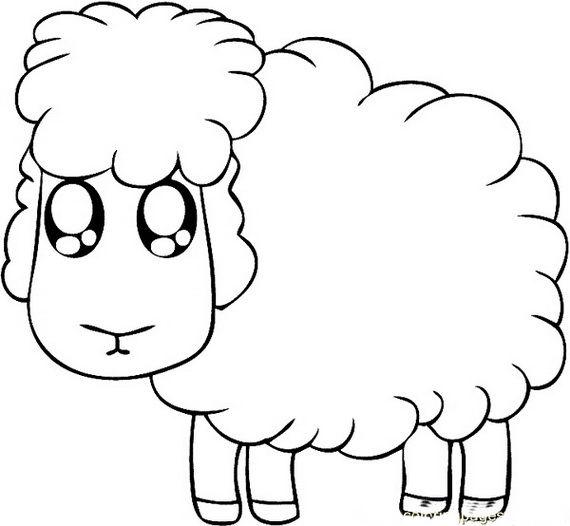 Eid Al Adha Islam Coloring Pages Easy Cartoon Drawings
