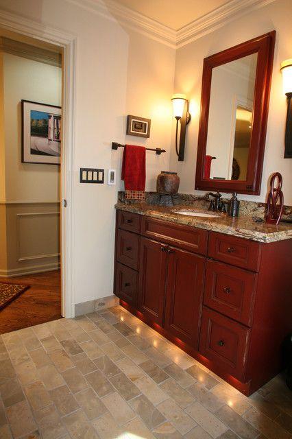 Bathroom Red Bathroom Vanity Intended For Awesome Household Red Bathroom  Vanity Plan Colored Headboards Adjustable Bed