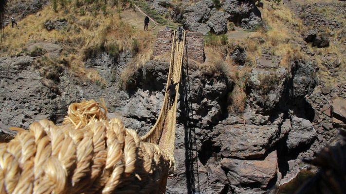 The Last Handwoven Bridge   http://www.thankyouforbeingsophisticated.com/