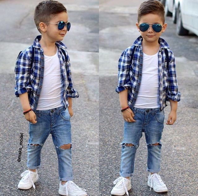 a920da1765f392 Ripped jeans | Kids | Kids fashion boy, Toddler boy fashion, Boy fashion