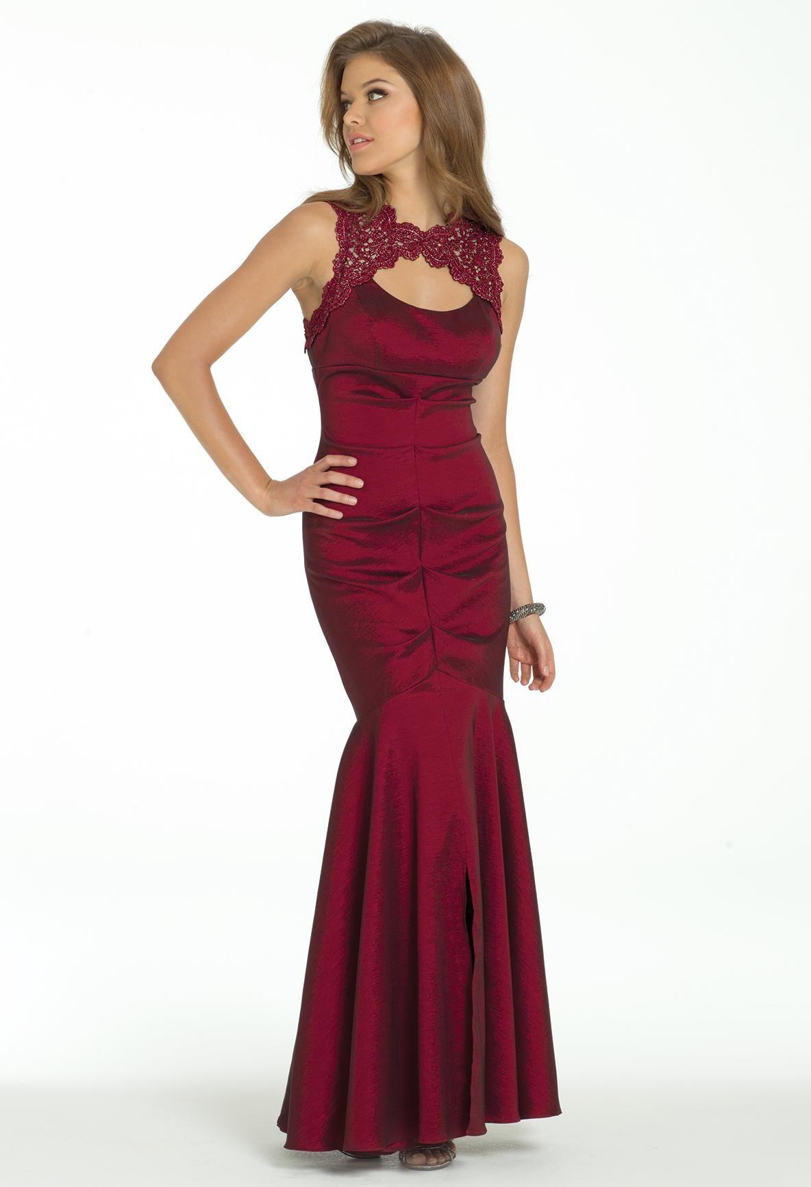 Metallic lace prom dress camillelavie clvprom prom dresses long