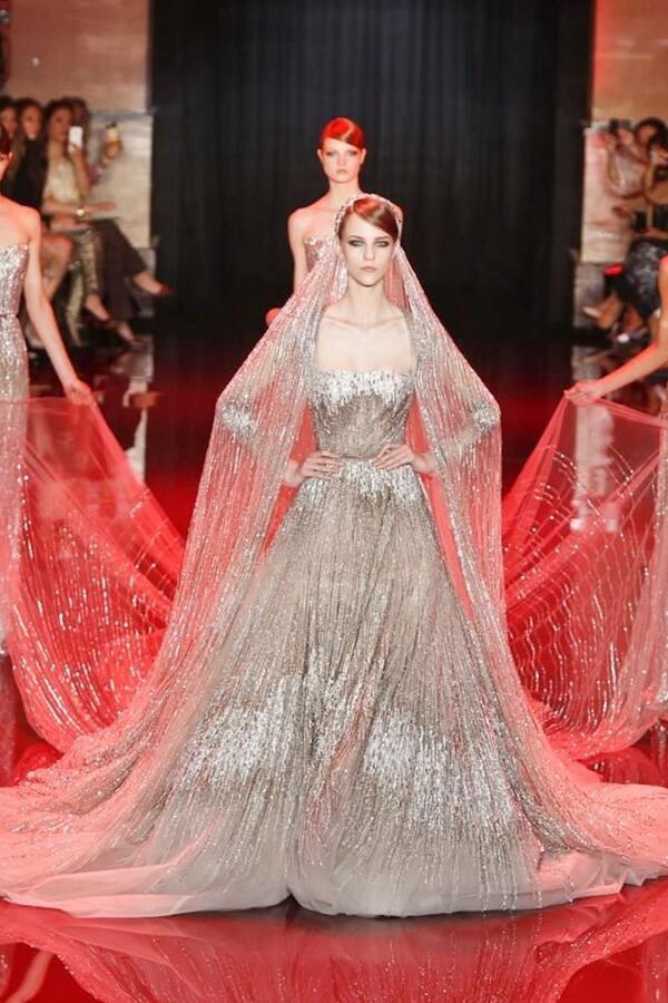 Ellie Saab Haute Couture Finale Fall 2013 | Novias | Pinterest ...