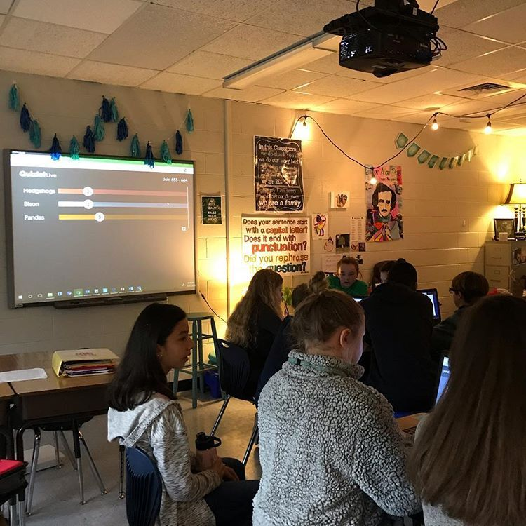 @quizlet live was such a good idea for today! The kids had ...