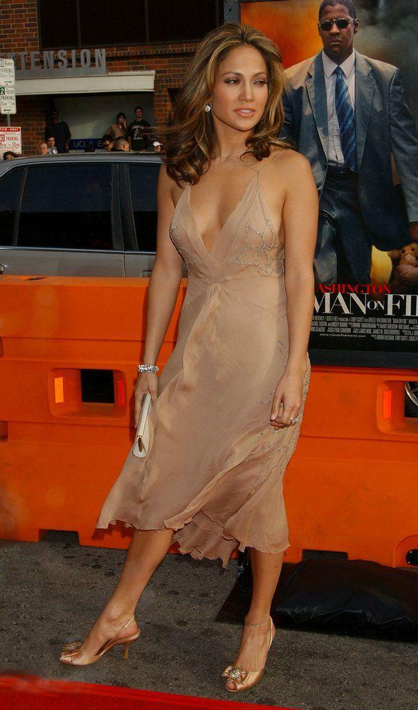 Beige Nude Dress Jennifer Lopez  Looks - Dresses -3742