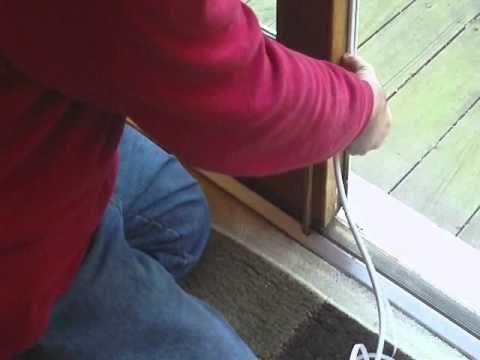 How To Weatherstrip A Double Door