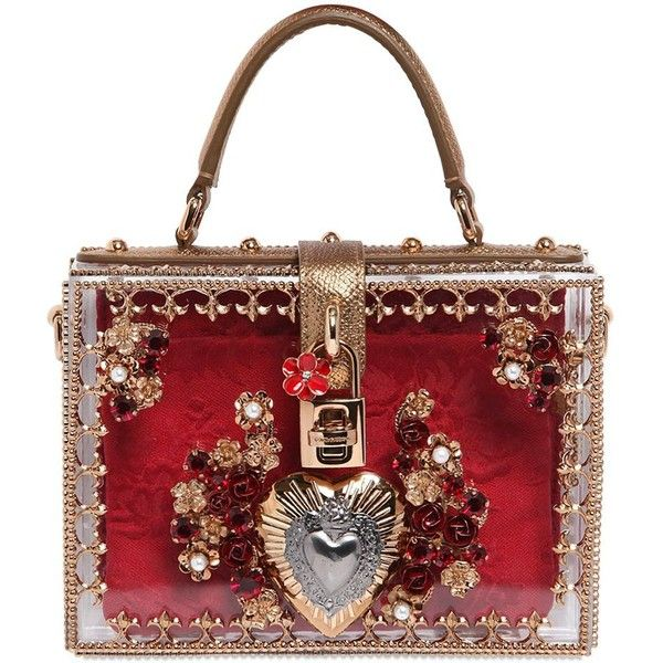 79268e8b7a DOLCE   GABBANA Mini Sacred Heart Embellished Dolce Bag ( 5