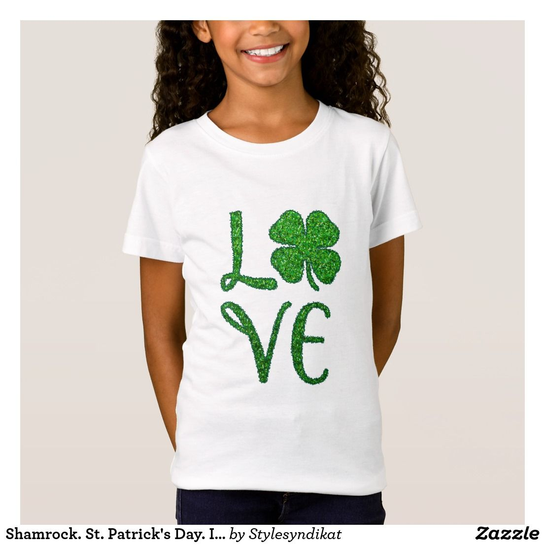 Shamrock. St. Patrick\'s Day. Irish Clover T-Shirt