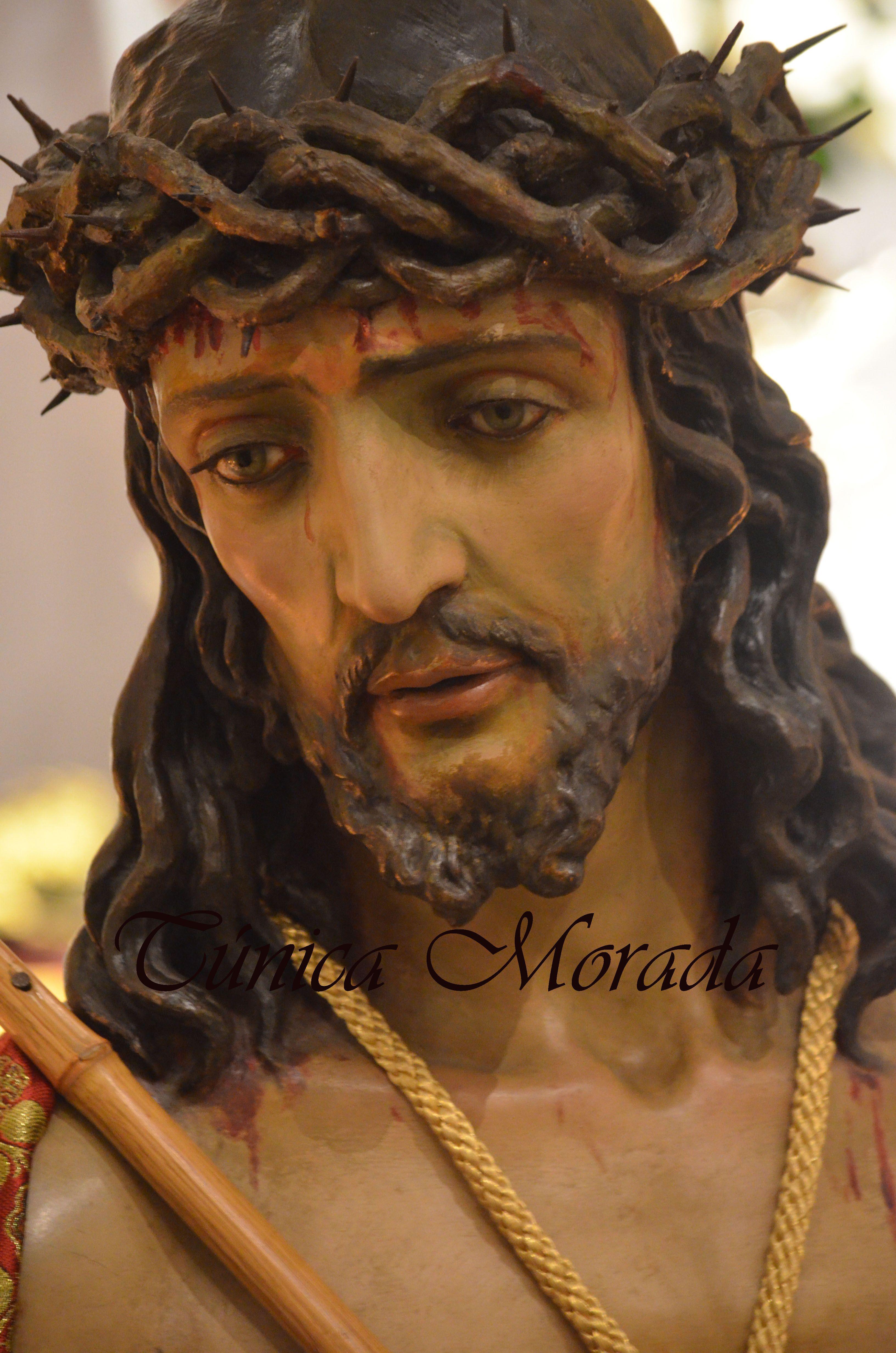 Santo Cristo Coronado De Espinas Santo Cristo Salud Málaga Cristo Coronado De Espinas Santísimo Cristo Jesus De Nazaret