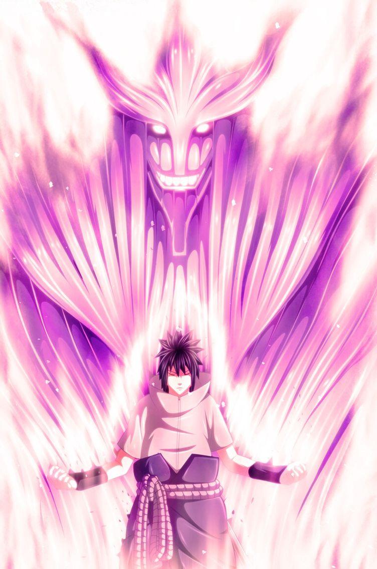 Sasuke Complete Susanoo Susanoo Anime Anime Sakura