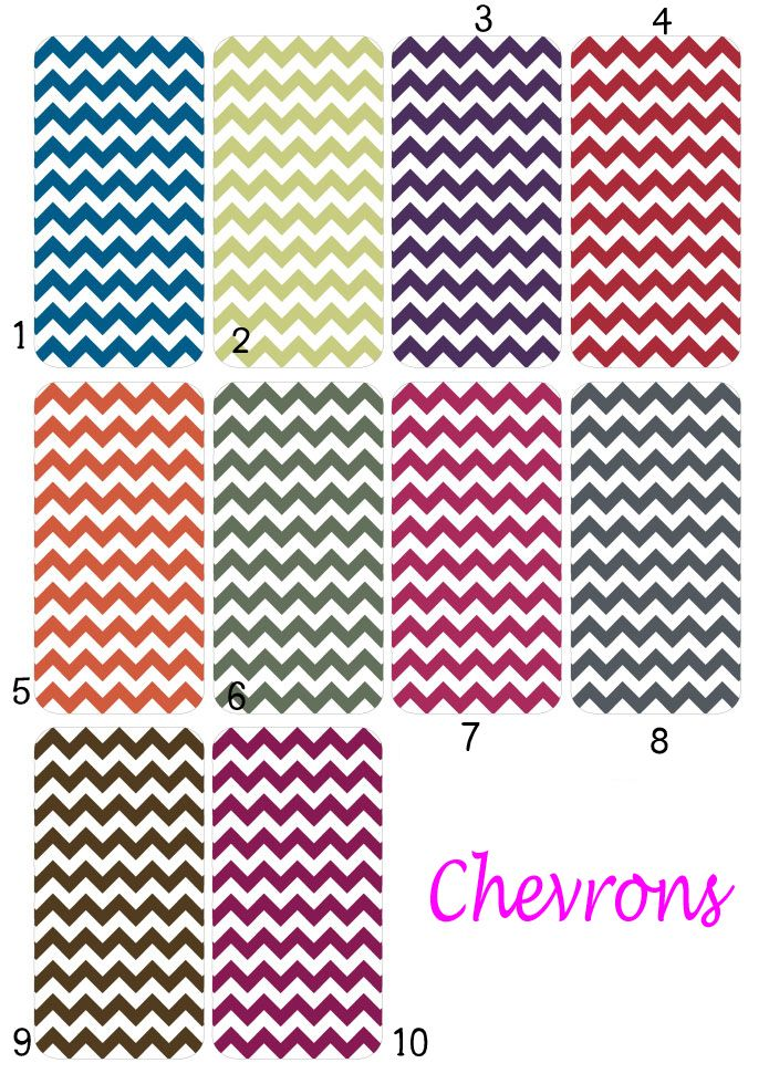 Available Chevrons Colors