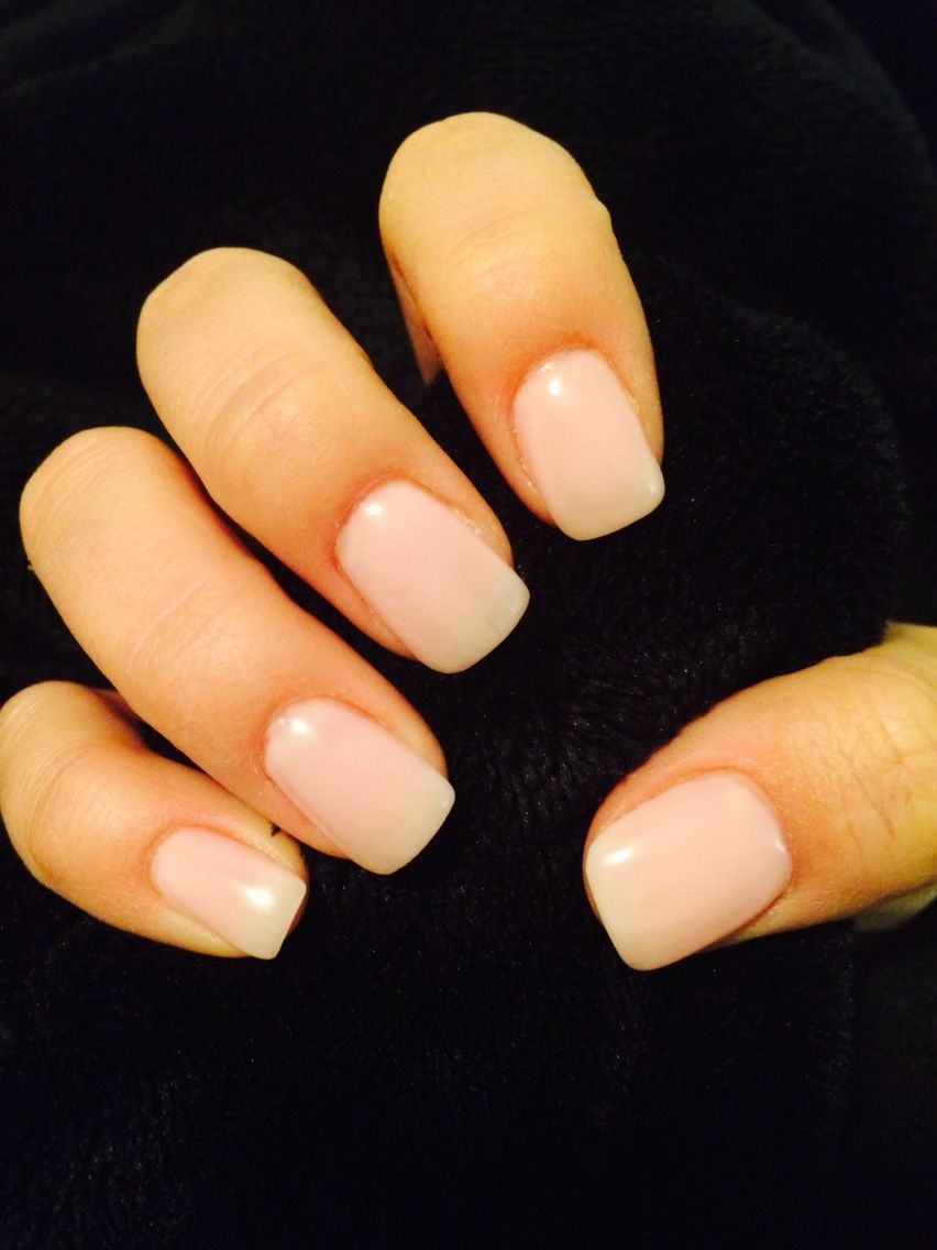 Light Pink Gel Nails Square Shape Natural Classy Pink Gel Nails Gel Nails Gel Nail Light