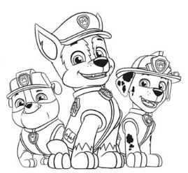 chase from paw patrol 2 coloring page - free coloring pages online in 2020 | paw patrol coloring
