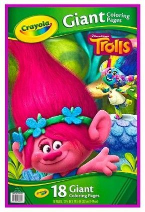 Trolls Crayola Coloring Pages - Celebpicsgallery