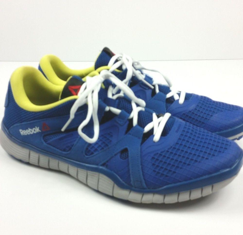 huge selection of 217de 4e1b3 Reebok Mens Size 12 Running Hiking Walking PW 3R Z Rated Blue Nanoweb Shoes  Run Reebok Running