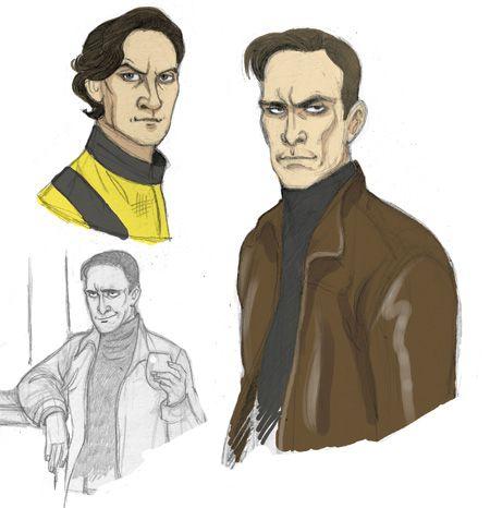 Well fan art on X-men...