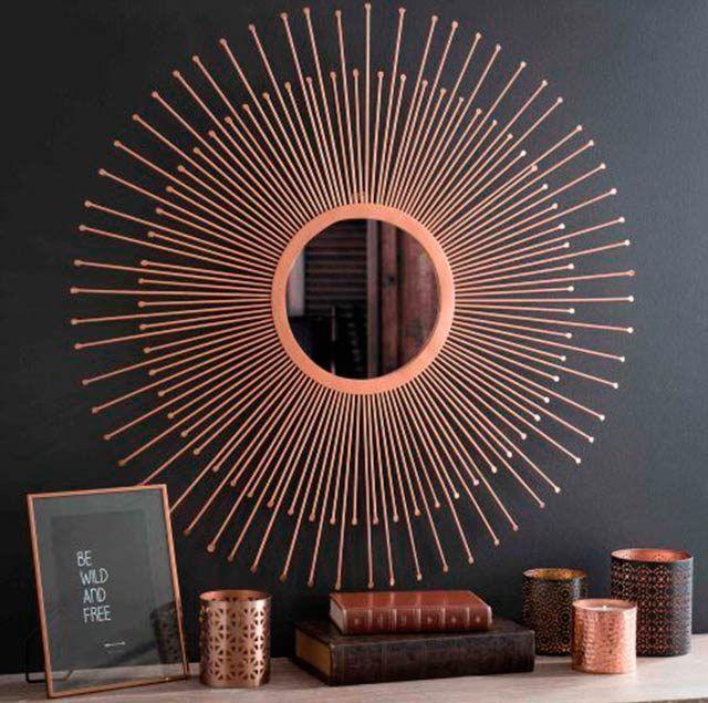Miroir Soleil Cuivré | Home L Déco | Pinterest | Miroir Soleil