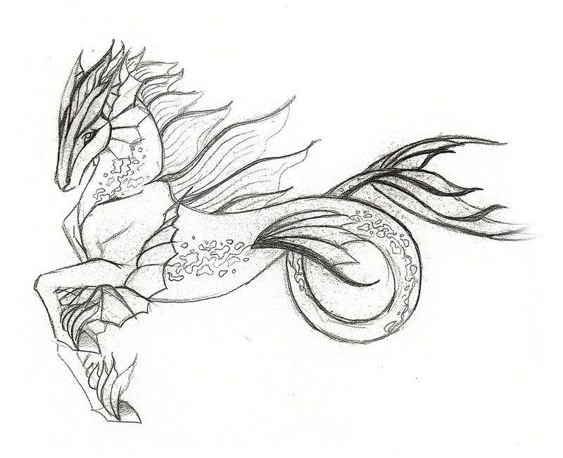 Some doodles of hippog...