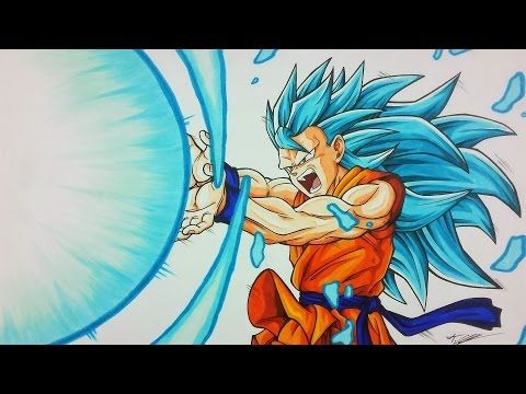 Drawing Goku Super Saiyan Blue 3 Kamehameha Tolgart Youtube Goku Super Saiyan Blue Super Saiyan Blue 3 Super Saiyan Blue