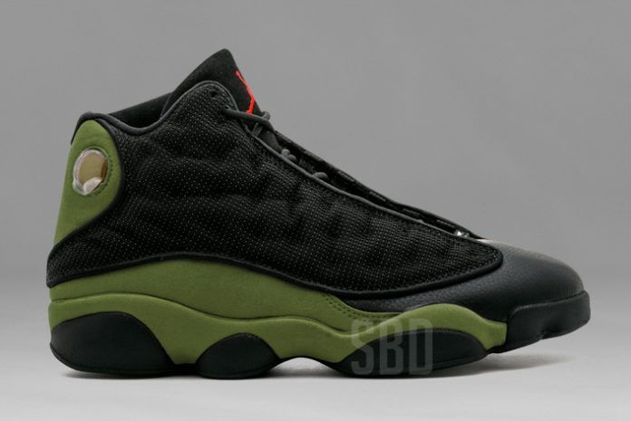 air jordan 13 olive hatfield