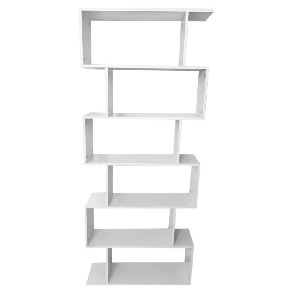 Totem Bookcase Modern Bookcase White Bookcase Bookcase