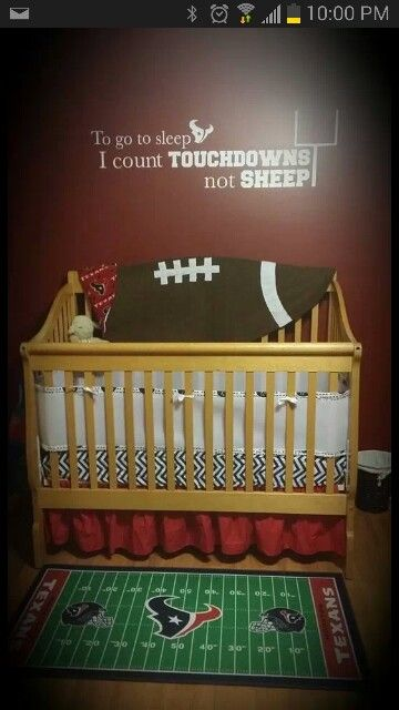 Texans Nursery But It Would 49ers For My Boy