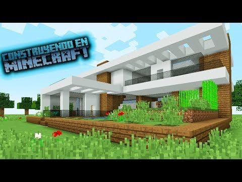 Como hacer una casa para survival moderna en minecraft for Casa moderna survival minecraft
