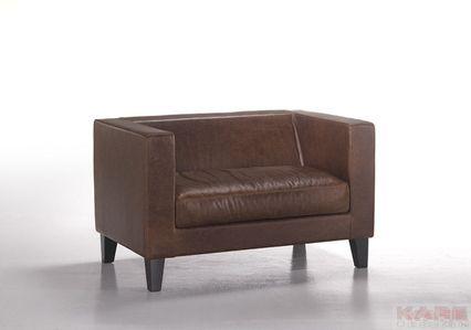Sofa+Ellington+1+marrone+KARE+++Studio+Divani