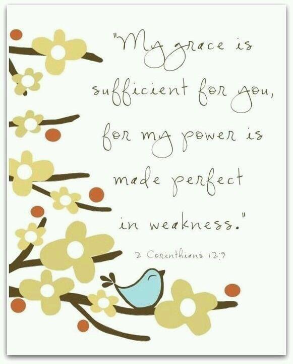 2 Corinthians12:9