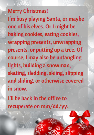 hilarious holiday ooo email scripts funny ways to say you are out of the office