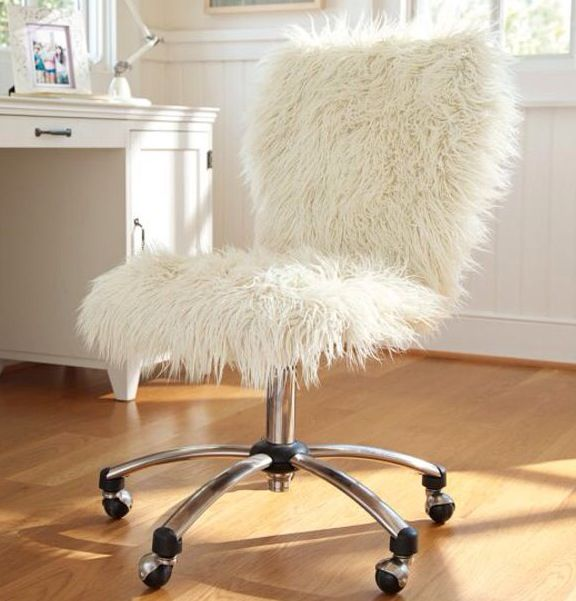 comfy chairs for teenagers. Need This Ivory Furlicious Airgo Chair Via PBteen For My Office, It Looks So Comfy! Comfy Chairs Teenagers T