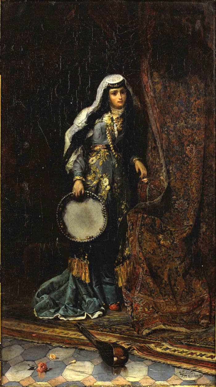 When the women were the drummers, charles landelle