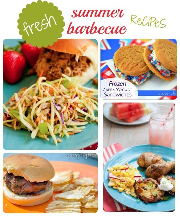 Fresh Summer Barbecue Recipes - perfect for children and families!#Barbecue Recipes #