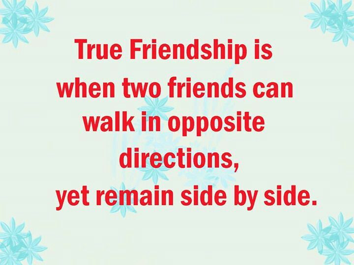 Long Distance Friendship