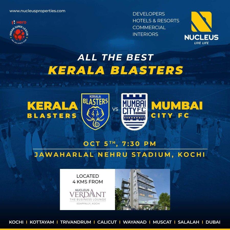 D'life home interiors kochi kerala wishing kerala blasters the best of luck before the game kbfc