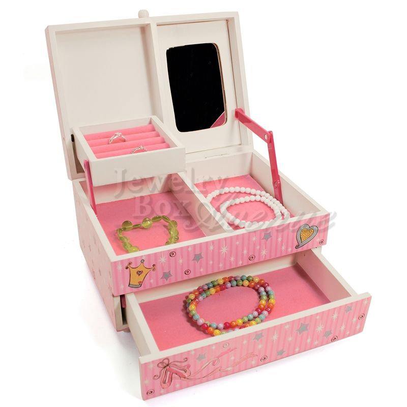 Divas Only Deluxe Pink Musical Jewelry Box   Kids jewelry ...