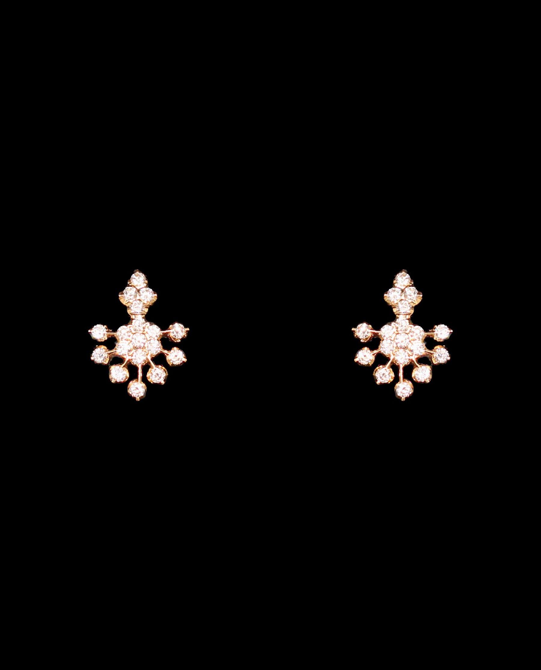 Diamond Eartops | Earrings simple | Pinterest | Diamond, India ...
