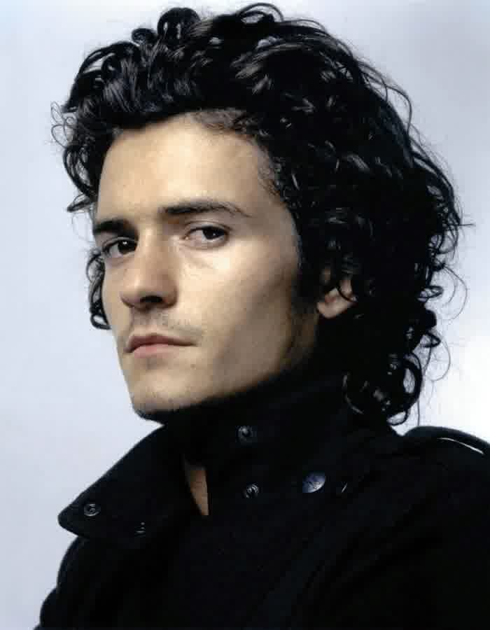 20 Cool Curly Hairstyles For Men Orlando Bloom Curly Hairstyles