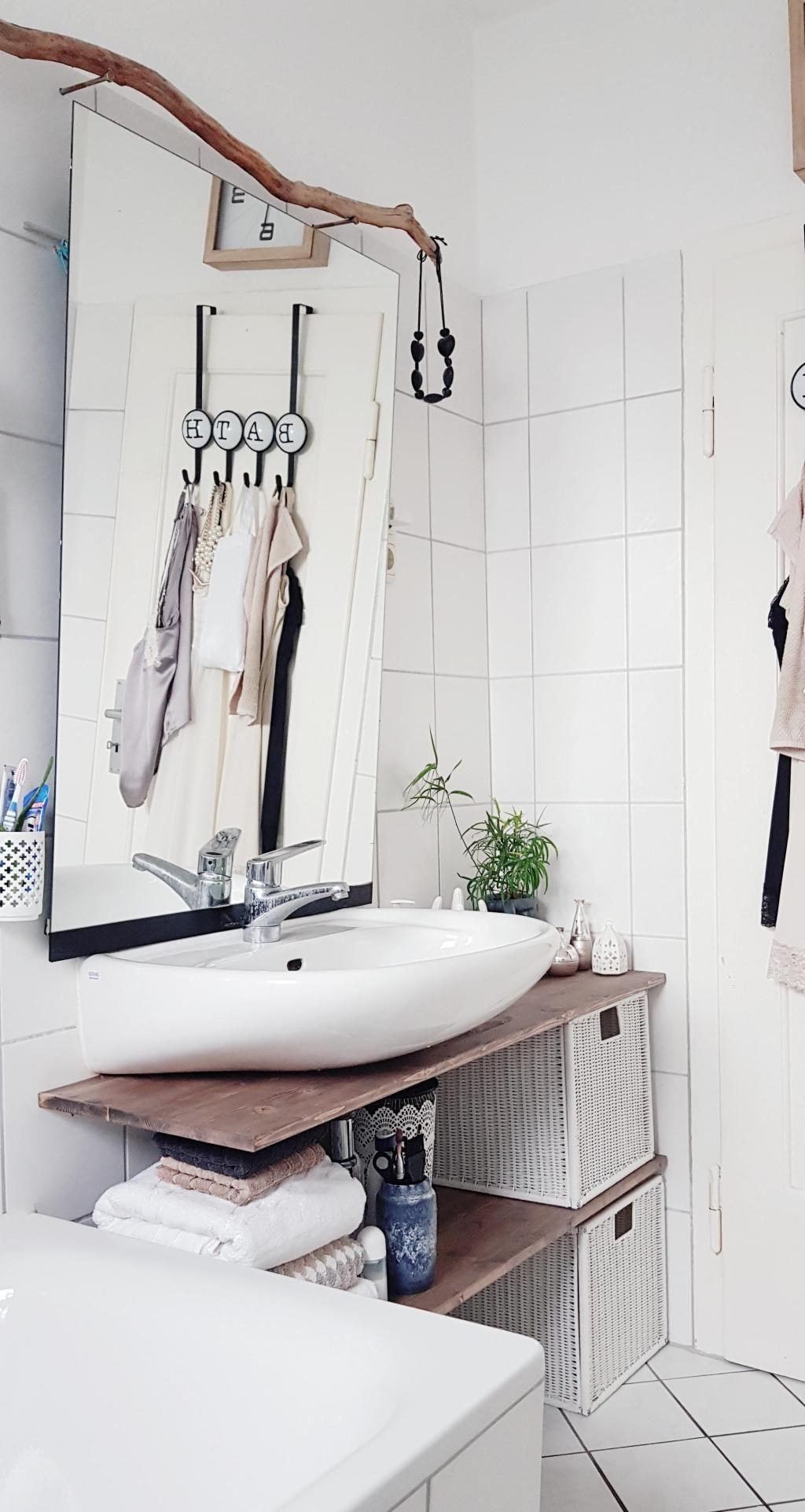 badezimmer egal welche gr e so machst du es sch n in 2019 einrichten und wohnen pinterest. Black Bedroom Furniture Sets. Home Design Ideas