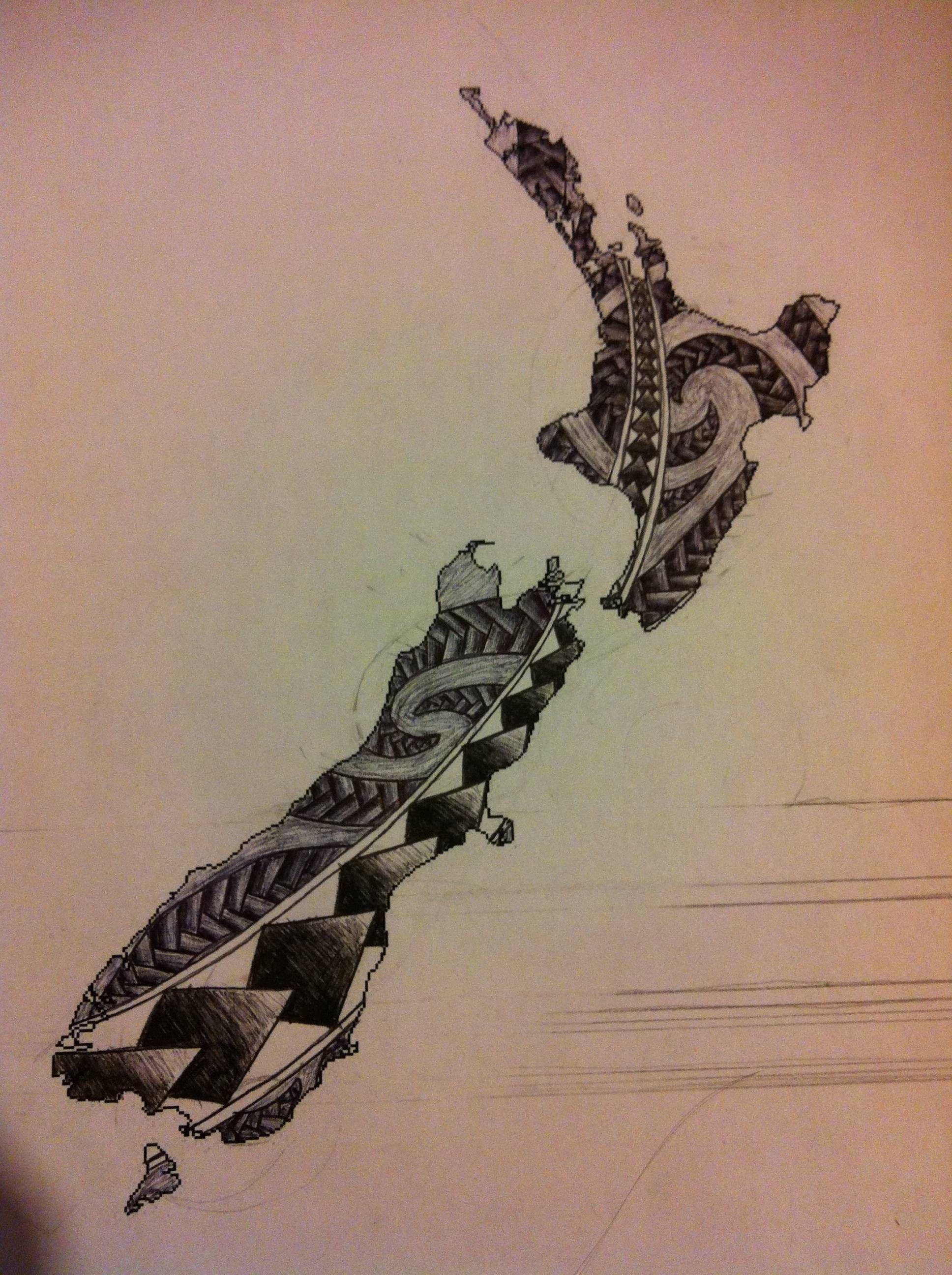Maori Tattoo New Zealand: New Zealand Tattoo Designs 39 S Imagine