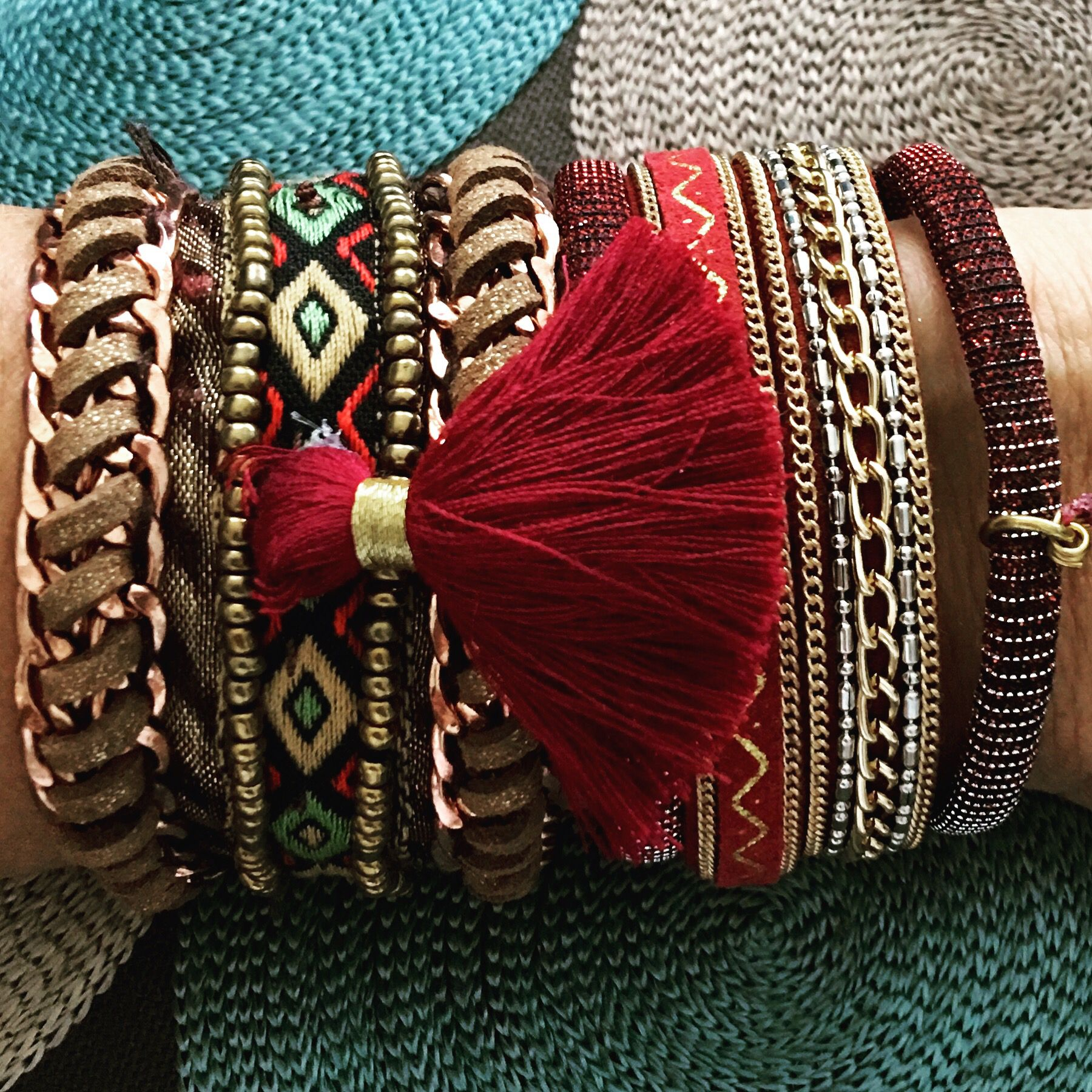 Wayuu Bracelet by MissGBags